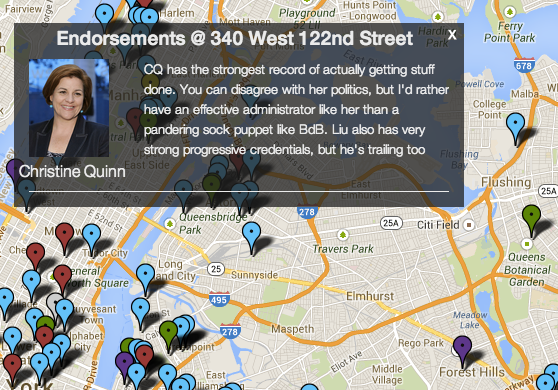 NYC-Dems screenshot